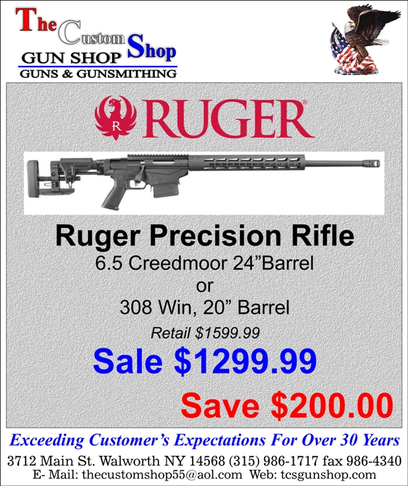 Huge Ruger Precision Rifle Sale